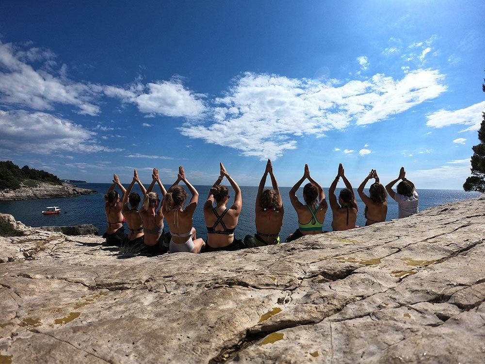 Achtsamkeit Yoga Kochen Fermentieren