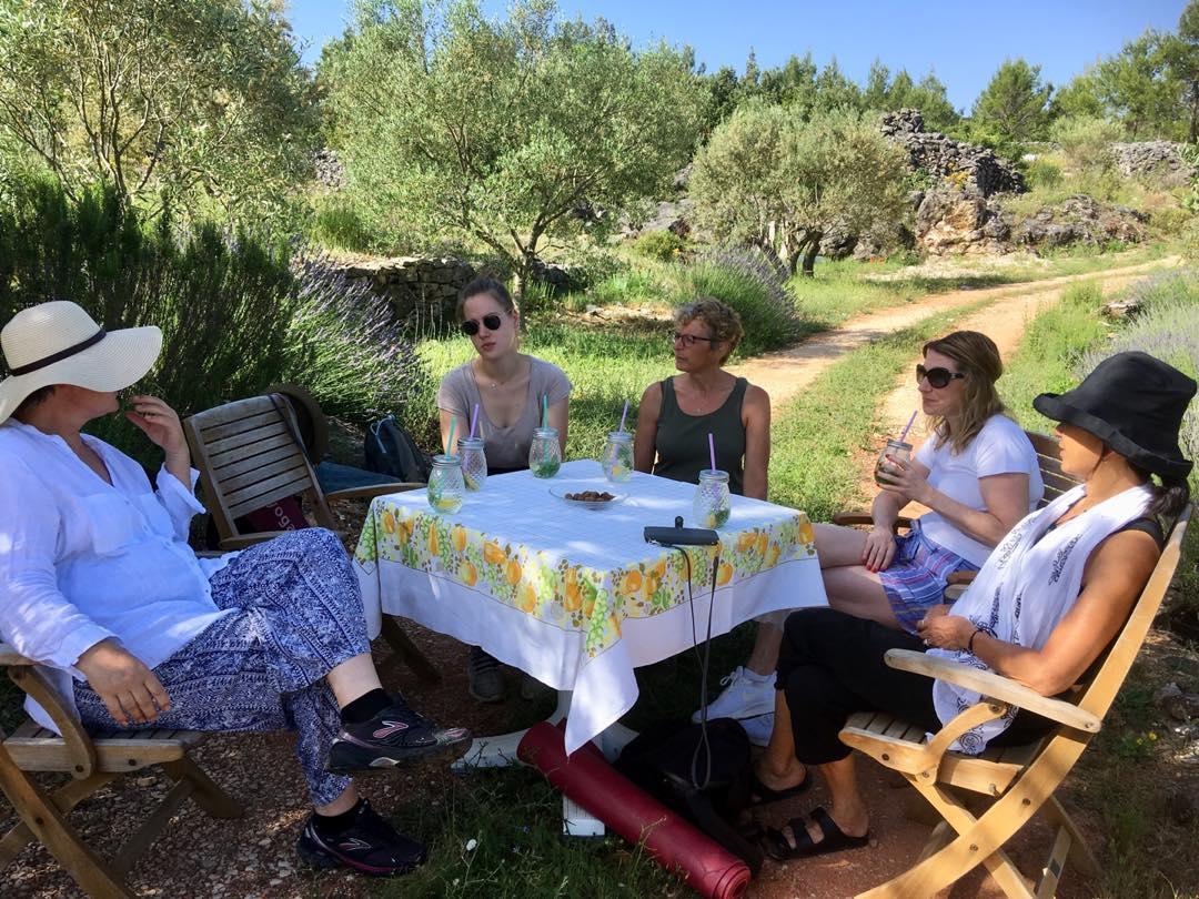 yoga and cooking class retreat croatia