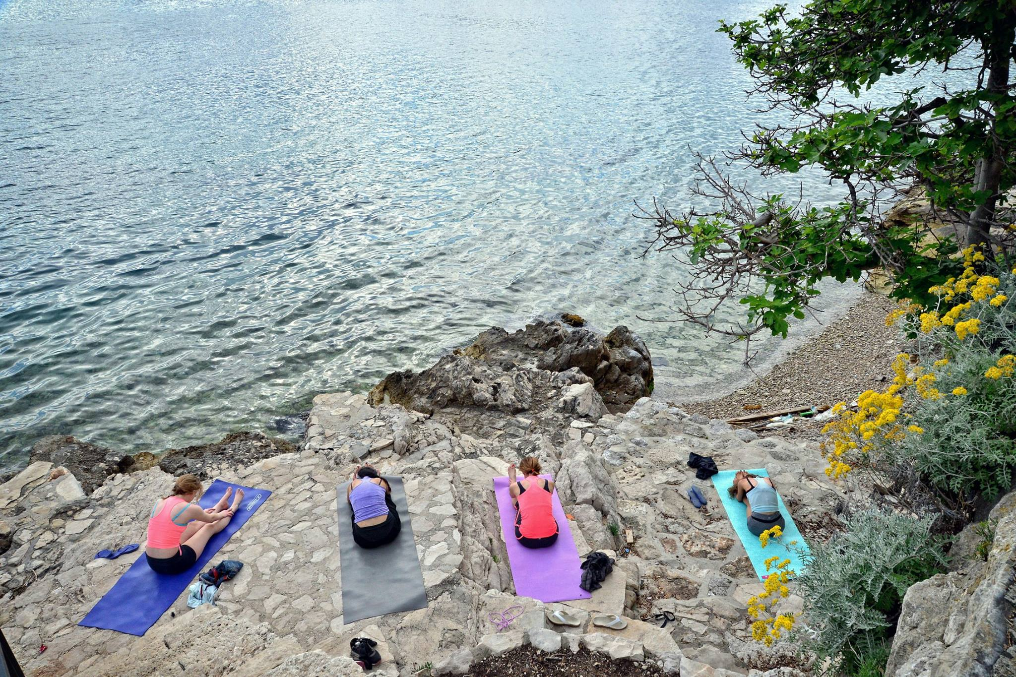 yoga mljet croatia retreat