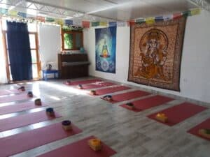 Yoga Shala Yoga Room Retreat Vis Island Croatia