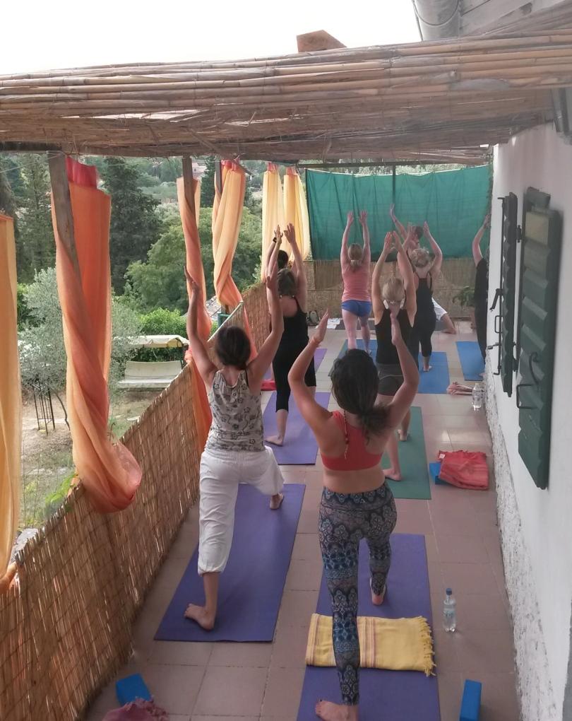 outdoor yoga shala retreat hvar september 2021