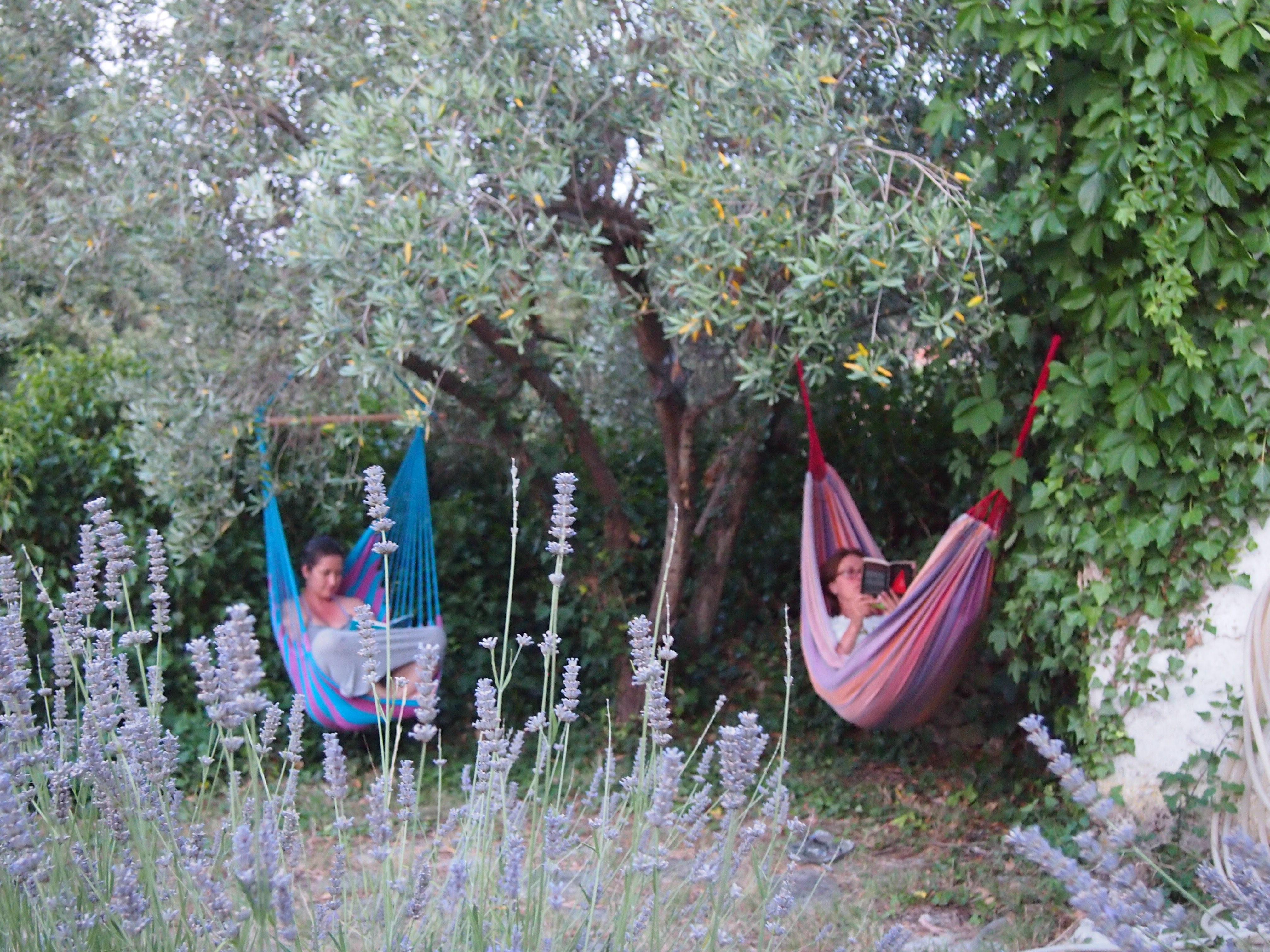 relaxing hamock hvar island retreat